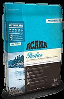 Acana Pacifica Dog (АКАНА Пасифика Дог) -беззерновой корм из трех видов свежих рыб для собак, 0.34кг