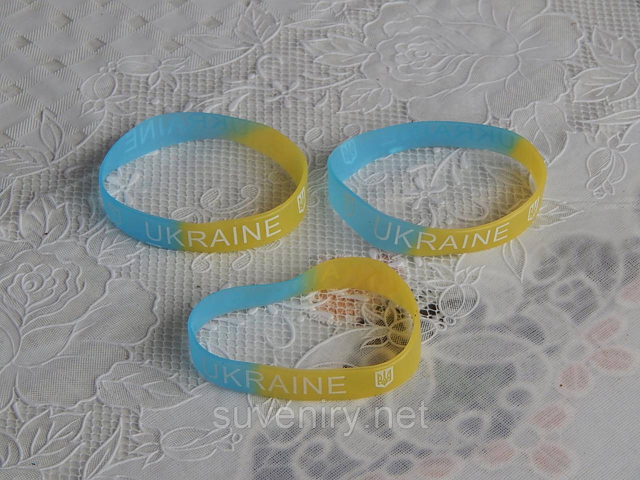 Браслет силиконовый фосфорный Украина