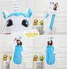 Пижама кигуруми единорог голубого цвета, фото 2