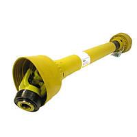 Вал карданный (6 х 8) (L=1000-1600мм) 160Н*м с обгон. муфтой (опр. прицепного ОП-2000)
