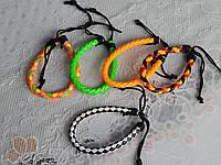 Модные недорогие кожаные браслеты