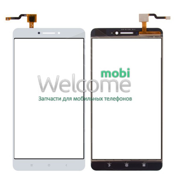 Сенсор Xiaomi Mi Max white (оригинал), тач скрин Сяоми Ксиоми Ми Макс