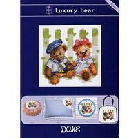 """Набор для вышивания """"Роскошные медвежата"""" DOME 40805"""
