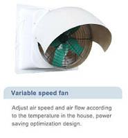 Вентиляторы с регулируемой скоростью вращения из пластика армированные стекловолокном HUABO