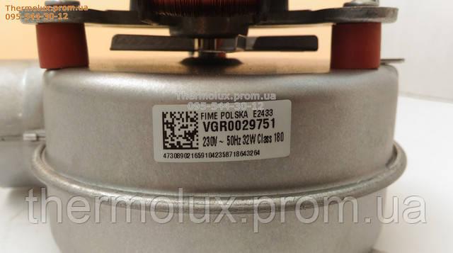 Заводская наклейка на вентиляторе (турбине) 718643264для котла Bosch