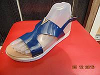 Женские босоножки  (синий) размеры 36-42 купить в розницу 7км одесса