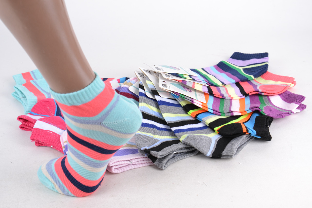 Женские заниженные носки  р. 37-41 ( E201/600 )   600 пар