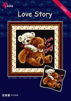 """Набор для вышивания """"История любви"""" DOME 110306"""