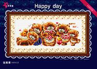 """Набор для вышивания """"Щасливый день"""" DOME 110113"""