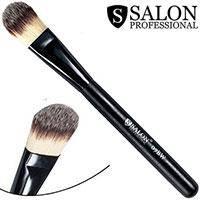 Salon Prof. Кисть для макияжа  07BW (большая) полу-плоская закругленная 30х20мм