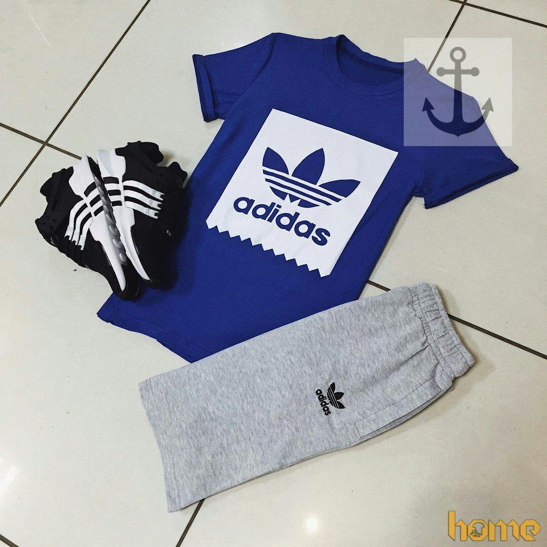 Летний мужской комплект Adidas