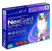 Нексгард Спектра от блох, клещей и гельминтов для собак 15 - 30 кг., 3 таб.