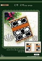 """Набор для вышивания кошелька """"Сочетание классических цветов"""" DOME S7021"""