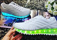 Светящиеся кроссовки с Usb зарядом наличии
