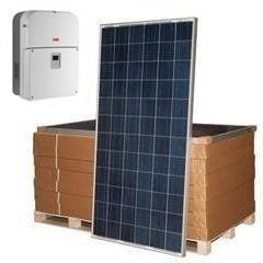 Сетевая солнечная электростанция SE-S30 ABB/Amerisolar