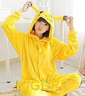 Кигуруми Пикачу костюм комбинезон pokemon go S (150-160cm)