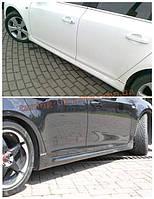 Накладки на пороги оригинал на Chevrolet Cruze 2008-2012 седан