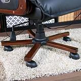 Кресло офисное с массажем. Для руководителя. Натуральная кожа, фото 4
