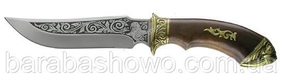 Охотничий нож Спутник Морж. Подарочный недорогой нож Производства Украина