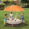 """Детская  песочница. Дитяча пісочниця + зонт """"Будплощадка"""""""