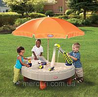 """Детская  песочница. Дитяча пісочниця + зонт """"Будплощадка"""", фото 1"""