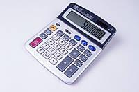 Калькулятор EATES BM-1900T, 12 разрядный, 2 вида питания, прозрачные кнопки, калькуляторы электронные, фото 1