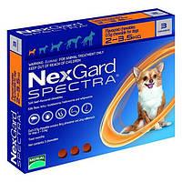 Нексгард Спектра от блох, клещей и гельминтов для собак 2 - 3.5 кг., 3 таб.