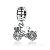 """Шарм подвеска №1545 """"Велосипед"""" для браслета Пандора PANDORA (Серебро)"""