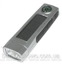 Фонарь с солнечной панелью DT-5918, фонарь недорогой, энергоемкий