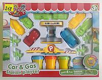 Набор для лепки из пластилина ''Заправочная станция'' Plasticine Magical (9224)