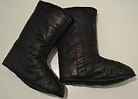Бурки - вставки в зимові чоботи .