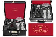Кальян стеклянный Red Scorpion Al Fakher Black, кальян сборный в коробке