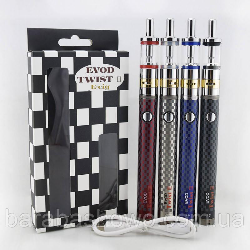 Электронные сигареты Evod Twist 3 + Aerotank m-16 ( 4 цвета )