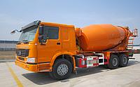 Бетономешалка SINOTRUK HOWO 6X4 371HP 12 m³ Mixer Truck