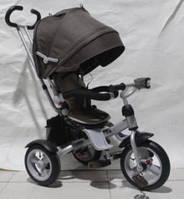 Трехколесный велосипед Crosser T-503 AIR коричневый,свет,музыка