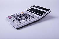 Калькулятор EATES DC-690, 12 разрядный, 2 вида питания,прозрачные кнопки, калькуляторы электронные
