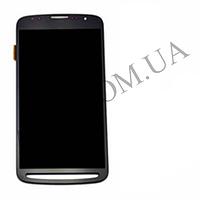 Дисплей (LCD) Samsung i9295 Galaxy S4 Active/  i537 с сенсором серый оригинал