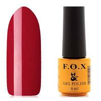 Гель-лак F.O.X  6 мл pigment №080 (красно-вишневый), фото 1