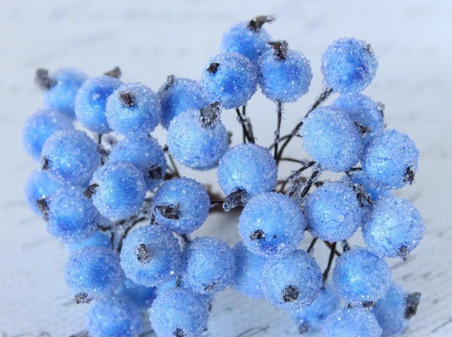 Голубые сахарные ягоды 40 шт