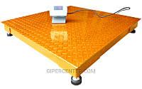Платформенные весы ЗЕВС эконом  ВПЕ-1000-4(H1515), до 1000 кг, размер площадки 1500х1500 мм