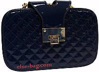 Женская стеганная сумочка на цепочке
