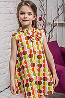 Платье детское Кружочки