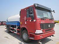 Водовоз SINOTRUK HOWO 6X4 280HP WATER TANKER TRUCK