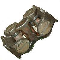 Вал карданный заднего моста (вилка двойная) (опора-задний мост) (яйца) в сб. Т-150К (пр-во ЛКМЗ)