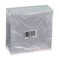 Конверт с окошком, для CD/DVD-дисков (100 шт)