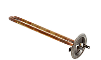 ТЭН 0,7 кВт, фланец 63мм, медь, прямой, крепление под анод М4,  для бойлеров Thermex, Ferroli
