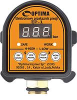 Электронное реле давления с защитой сухого хода Optima EP-1
