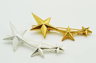 Заколка для волос со звездами
