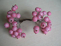 Нежно розовый сахарные ягоды 40 шт