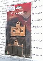 Итальянские синтетические тормозные колодки BRENTA 4137  для мотоциклов Honda Cb KAWASAKI и SUZUKI
